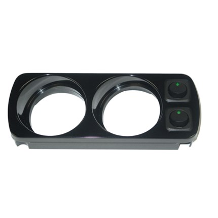 PPE Overhead Gauge Mount (Holds two 2 & 1/16