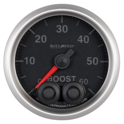 autometer elite series boost gauges  control smoke and egt with afc live