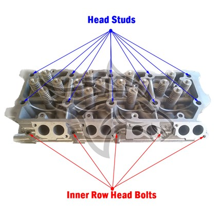 ARP 250-4206 Cylinder Head Bolt Kit Inner Row 2003-2007 Ford 6.0L Powerstroke