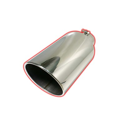 Rolled Angle Bolt On Exhaust Tips | Flo Pro | Thoroughbred