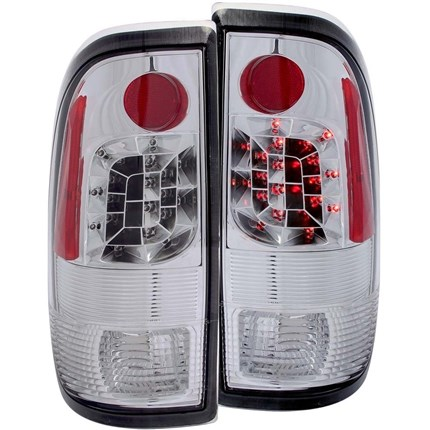 Anzo Chrome LED Tail Lights   99 07 Ford F250/350   311026