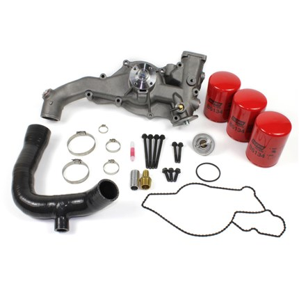 Ford 7.3 L Diesel >> Diesel Site Waterpump With Coolant Filter Kit 95 5 97 Ford 7 3l
