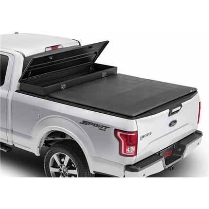 Extang Trifecta 2 0 Toolbox Tonneau Cover 2017 2019 Ford F250 F350 6 9 Bed Thoroughbred Diesel