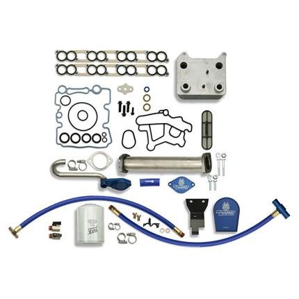 Sinister Basic 6 0L Solution Package w/EGR Upgrade Kit, Oil Cooler &  Coolant Filter Kit - 03-07 Ford Powerstroke - SD-BS-6 0-EGRD-CF