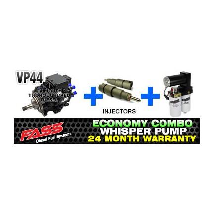 VP44 Injectors - FASS Pump Combo Pkg | 98 5-02 Dodge Cummins