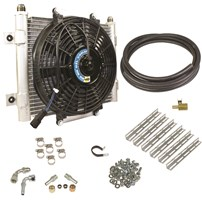BD Diesel Auxiliary Transmission Cooler