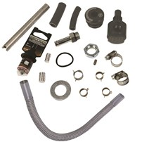BD Diesel Flow-Max Top Side Draw Straw Kit - Universal (For Flow-Max Fuel Pumps) - 1050345