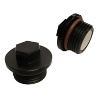 PPE Race Weight Magnetic Drain Plug - For Use w/PPE Trans Pan & Diff Covers - 128051004