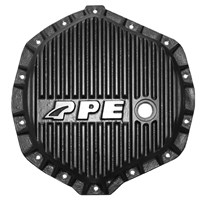 PPE Heavy Duty Differential Cover (Black) - 2001-2018 GM Duramax | 2003-2018 Dodge Cummins (with AA14-11.5 Axles) - 138051020