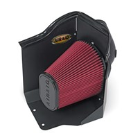 Airaid Cold Air Intake w/SynthaMax Dry Filter (COOL AIR DAM SERIES) - 07-10 Duramax LMM - 201-215