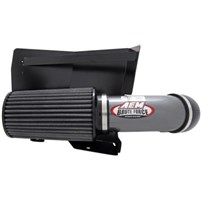 AEM Brute Force Air Intake - Gunmetal Gray - 94-02 Dodge Cummins 5.9L - 21-8204DC