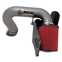 AEM Brute Force HD Air Intake - Gunmetal Gray - 03-06 Dodge Cummins 5.9L - 21-9211DC