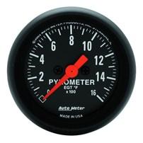 Auto Meter Z-Series - Pyrometer 2-1/16