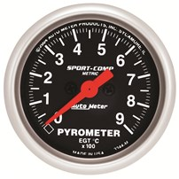 Auto Meter Sport Comp Analog Series - Pyrometer 2-1/16