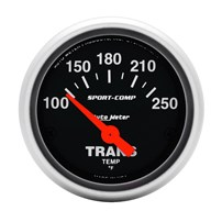 Auto Meter Sport Comp Analog Series - Trans Temp Gauge 2-1/16