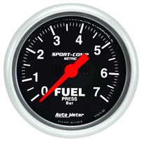 Autometer Sport Comp Fuel Pressure Gauges