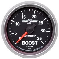 Autometer Sport Comp II Boost Gauges