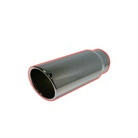 Flo Pro 15 Degree Rolled Angle Cut Exhaust Tips