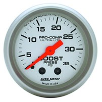 AutoMeter Ultra-Lite Boost Gauges