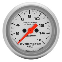 Autometer Ultra Lite Pyrometer Gauges
