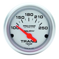 Auto Meter Ultra-Lite Series - Transmission Temp Gauge 2-1/16