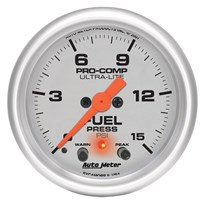 Autometer Ultra Lite Fuel Pressure Gauges