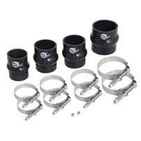 AFE Intercooler Couplings and Clamps Replacement Kit - Fits: 07.5-09 Dodge Cummins - aFe intercooler tubes (46-20034-B) Only - 46-20030A