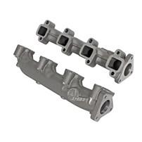 aFe BladeRunner Ported Ductile Iron Exhaust Manifolds - 01-16 GM Duramax LLY/LBZ/LMM/LML V8 6.6L - 46-40024