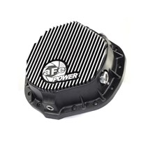 aFe Differential Cover (Machined Fins) 2001-2018 GM 6.6L Duramax | 2003-2018 Dodge Cummins - 46-70012