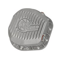 aFe Rear Street Series Differential Cover (Raw) - Ford F-250/F-350/Excursion 86-17 V8 (td) (10.25 & 10.50-12 Bolt Axles) - 46-70020