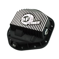 aFe Front Pro Series Differential Cover (Machined) - 94-16 Ford F-Series & Super Duty w/ Dana 60 Front - 46-70082