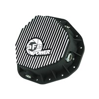 aFe Rear Pro Series Differential Cover (Machined) - Dodge Diesel Trucks 03-05 L6-5.9L (td) (AAM 10.5-14 Bolt Axles) - 46-70092