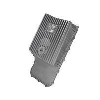 aFe Transmission Pan (Raw Finish) - 11-18 Ford Powerstroke 6.7L - 46-70180
