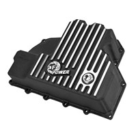 aFe Engine Oil Pan (Black Machined) - 14-16 Dodge Ram 1500 EcoDiesel - 46-70282