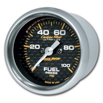 Autometer Carbon Fiber Series Fuel Pressure Gauges