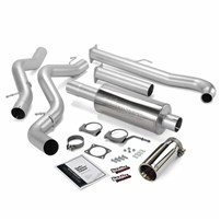 Banks Power - Monster Exhaust - 01-04 Chevy/GMC LB7 | Ext/crew cab, SB | No cat converter - 48629