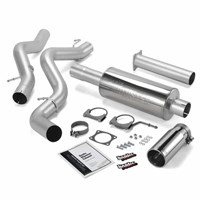 Banks Power - Monster Exhaust - 02-05 Chevy/GMC LB7, LLY | Ext/crew cab, SB | Cat converter - 48633