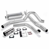 Banks Power - Monster Exhaust - 01-03 Ford F-250/350 | Cat converter | 275-hp rated - 48657