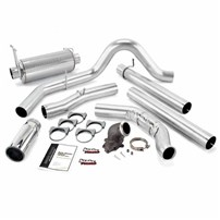 Banks Power - Monster Exhaust w/Power Elbow - 01-03 Ford F-250/350 | Cat converter | 275-hp rated - 48660