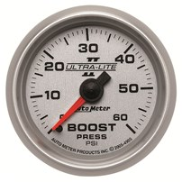 Auto Meter Ultra-Lite II Series - Boost Gauge 2-1/16