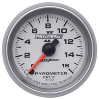 Autometer Ultra Lite II Pyrometer Gauges