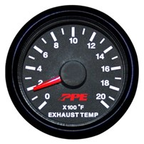 PPE Pyrometer (Exhaust Gas Temperature) Gauge 01-12 Duramax/03-12 Cummins/03-12 Powerstroke - 517010000