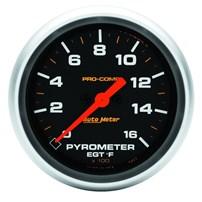 Auto Meter Pro Comp Series - E.G.T. 2-5/8