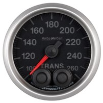 Auto Meter Elite Series - Transmission Temperature Gauge 100-260 deg 2-1/16