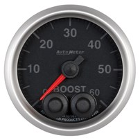 Autometer Elite Series Boost Gauges