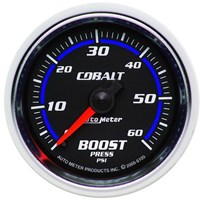 Autometer Cobalt Series Boost Gauges