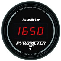 Auto Meter Sport Comp Digital Series - 2-1/16