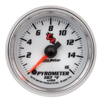 Autometer Cobalt C2 Series Pyrometer Gauges