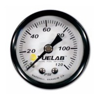 Fuelab EFI Fuel Pressure Gauge - Universal - 71501