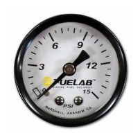 Fuelab Carbureted Fuel Pressure Gauge - Universal - 71502